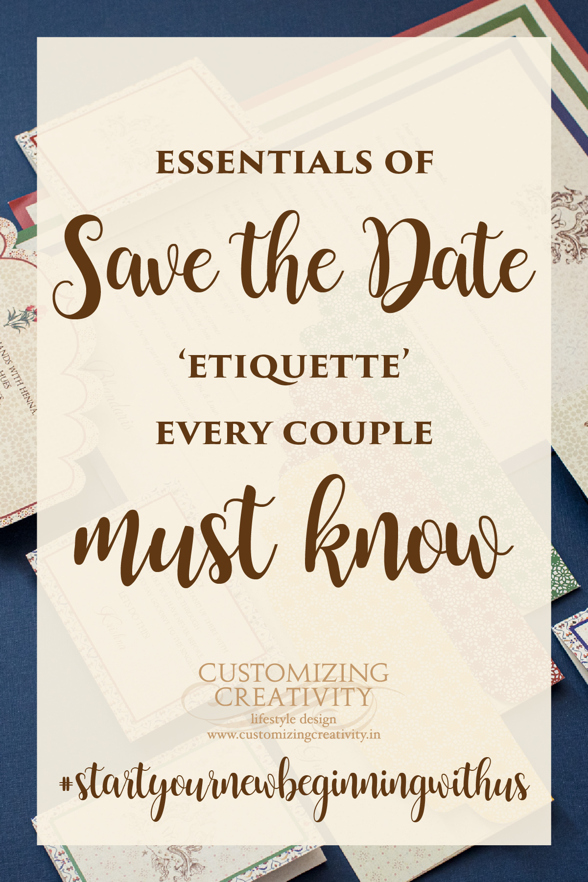 Wedding Invitation Save the date Wedding Invite design